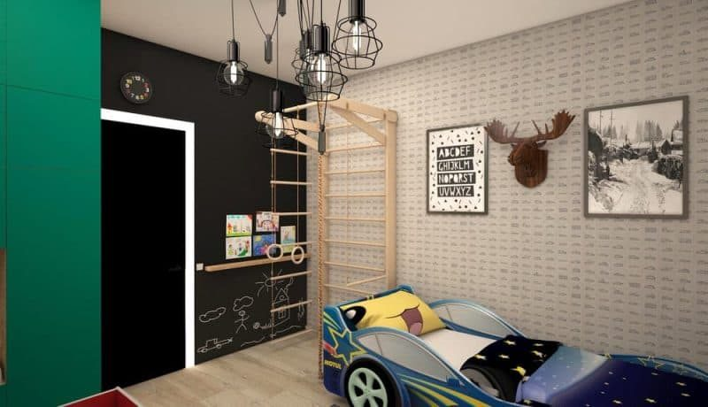 Дитяча кімната для двох хлопчиків - дизайн 1 фото 2