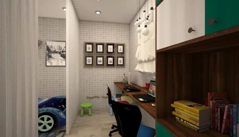 Дитяча кімната для двох хлопчиків - дизайн 1 фото 4