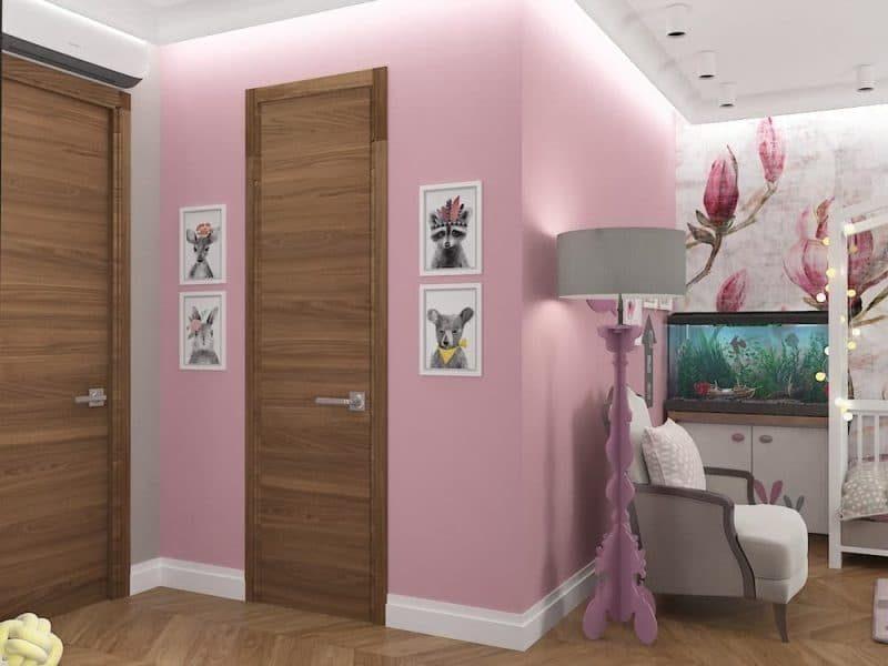 Дитячі кімнати для двох дівчаток - дизайн 5 фото 5