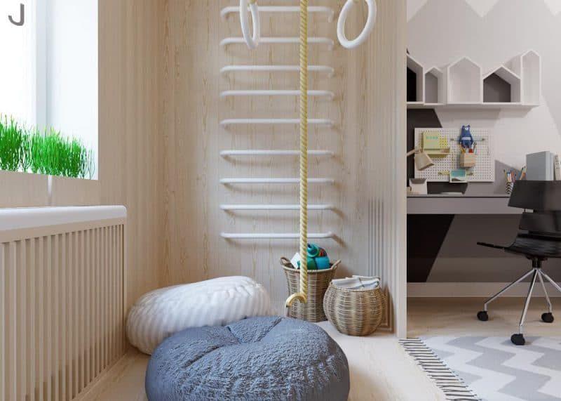 Дитячі кімнати для двох різностатевих дітей - фото 3