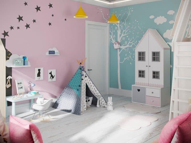 Дитячі кімнати - фотогалерея 5