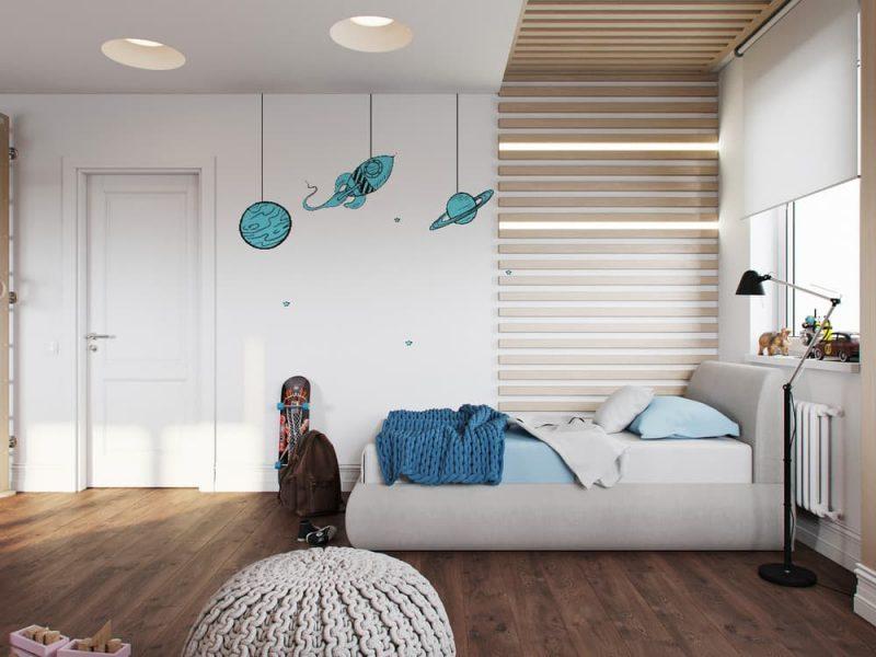 Дизайн дитячих кімнат для хлопчика та дівчинки - фото 2