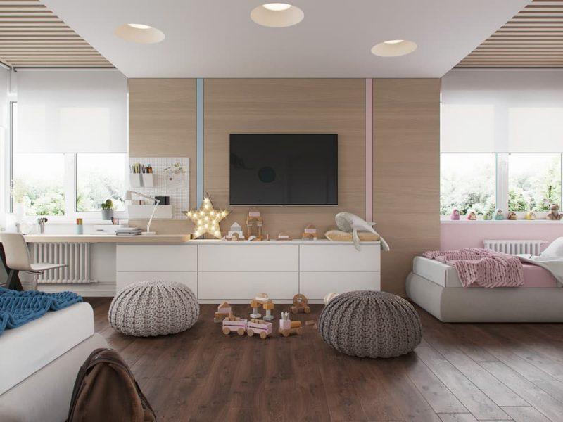 Дизайн дитячих кімнат для хлопчика та дівчинки - фото 3