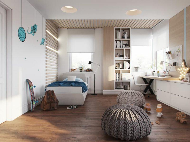 Дизайн дитячих кімнат для хлопчика та дівчинки - фото 4