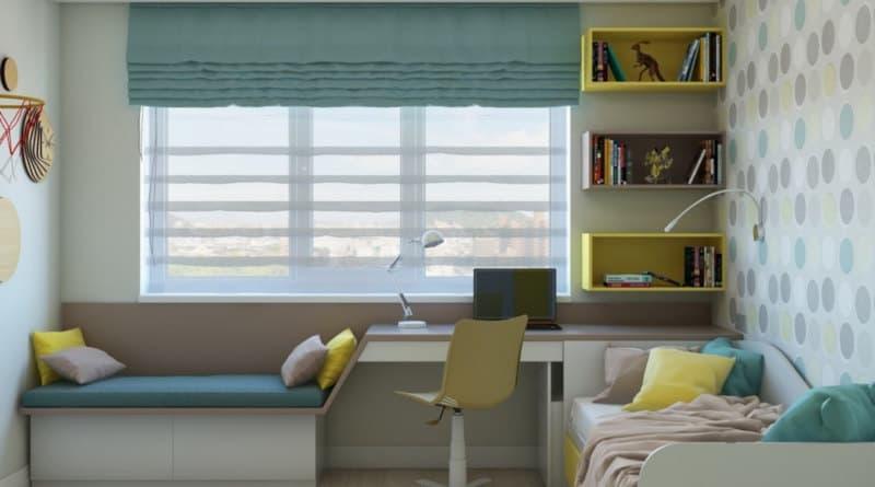 Дизайн кімнати для хлопця підлітка