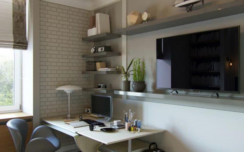 Дизайн кімнати для молодого хлопця в стилі лофт - фото 4