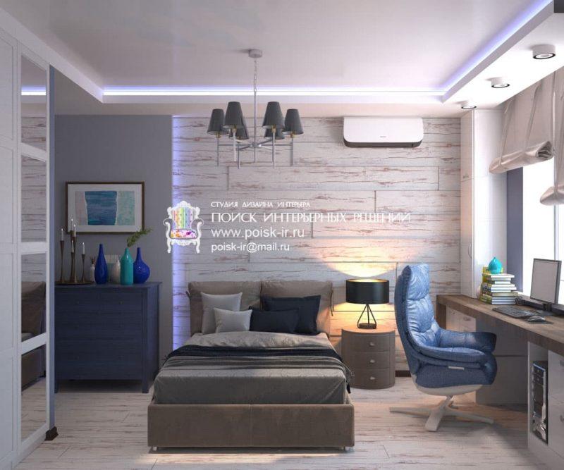 Дизайн кімнати для підлітка хлопця - фото 1