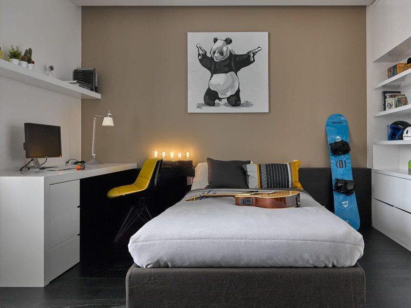 Дизайн кімнати для підлітка хлопця - фото 34