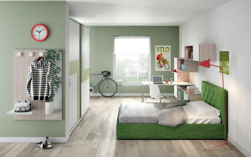 Дизайн кімнати для підлітка хлопця - фото 35