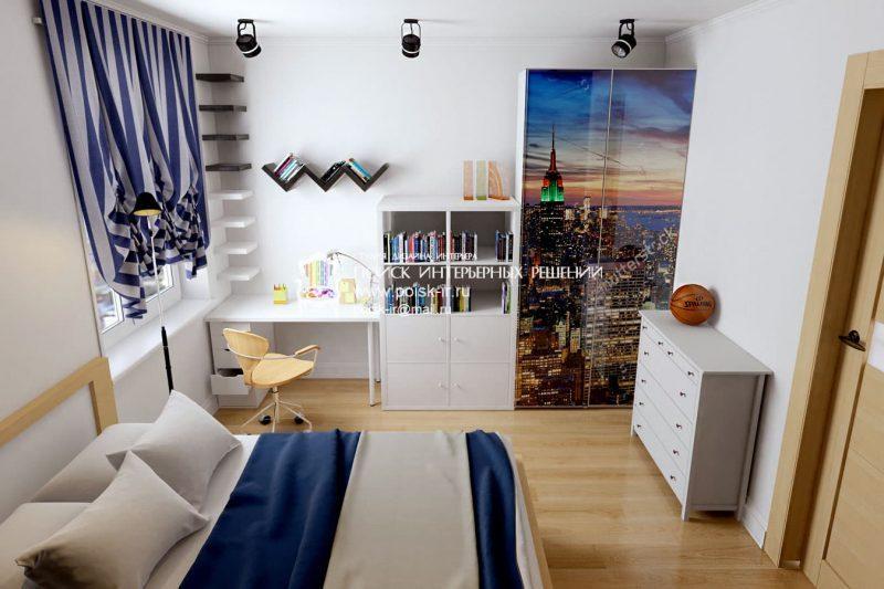 Дизайн кімнати для підлітка хлопця - фото 38