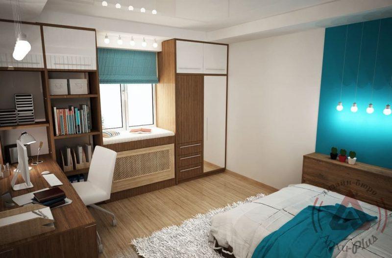 Дизайн кімнати для підлітка хлопця - фото 39