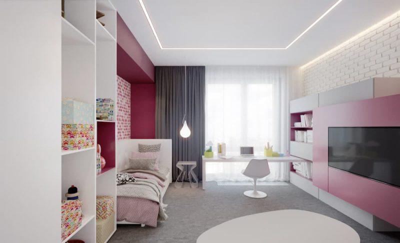 Дизайн кімнати для підлітка хлопця - фото 41