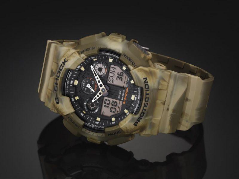 Годинник CASIO G-Shock GA-100CM-5AER