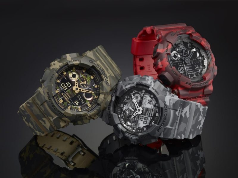 Годинники CASIO G-Shock GA-100CM-5AER