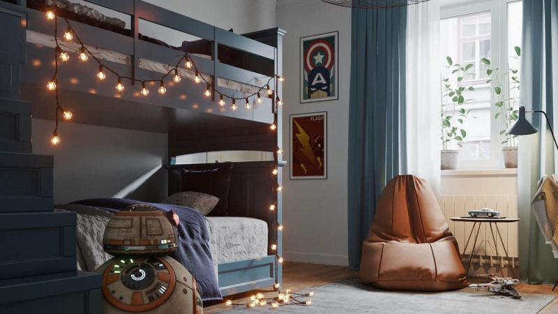 Кімната для двох хлопців - фото 1