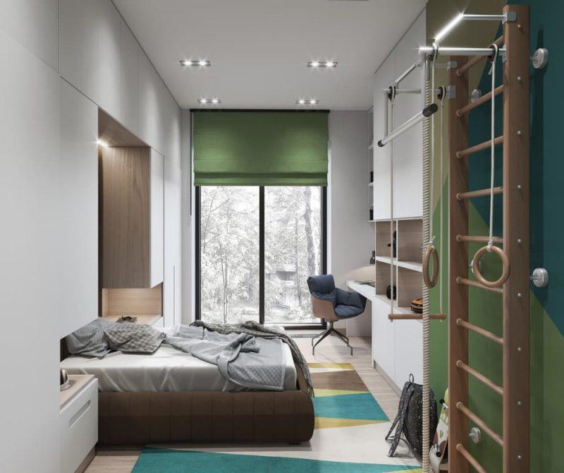 Сучасна кімната для підлітка - фото 4