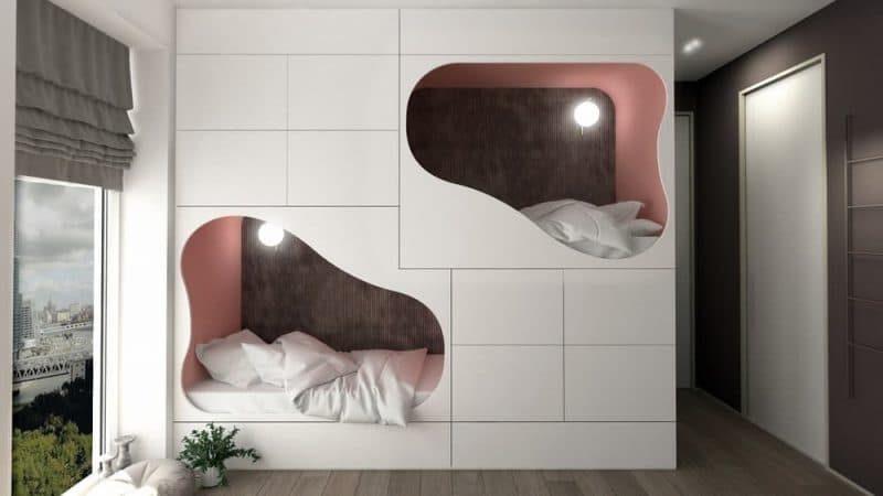Сучасне оформлення дитячої кімнати на двох - фото 1