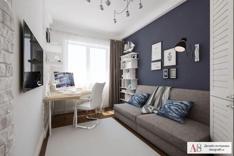 Сучасний дизайн кімнати для хлопця підлітка - фото 1