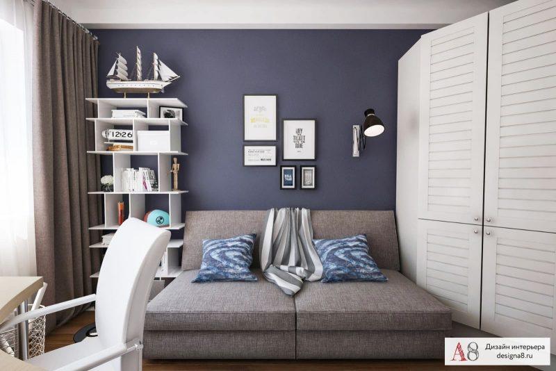 Сучасний дизайн кімнати для хлопця підлітка - фото 2