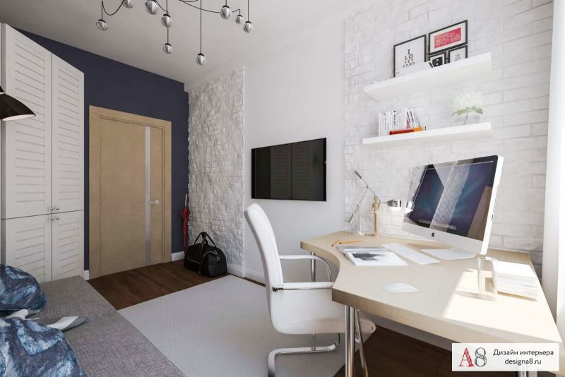 Сучасний дизайн кімнати для хлопця підлітка - фото 3