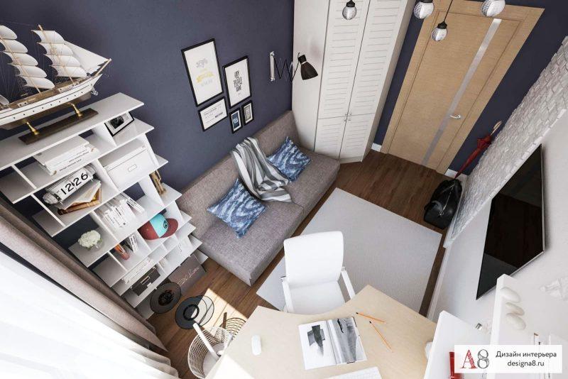 Сучасний дизайн кімнати для хлопця підлітка - фото 4
