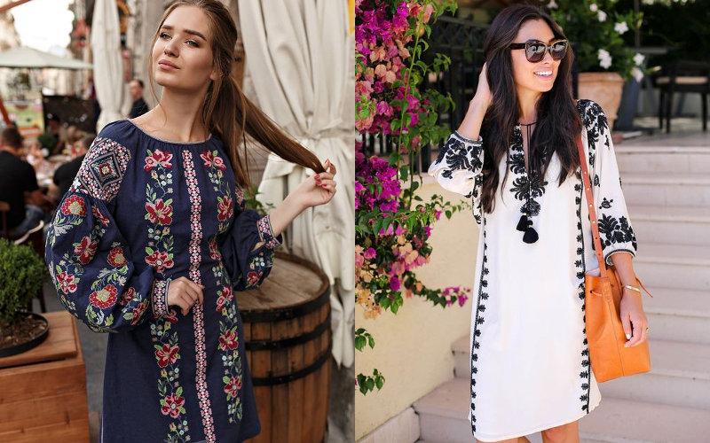9edfa8319dce14 Вишиті плаття (30 фото): сучасна мода на сукні у 2019 році - «Поличка»