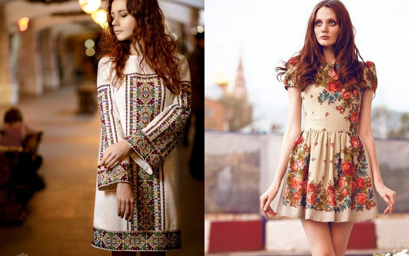Вишиті плаття фото - 13
