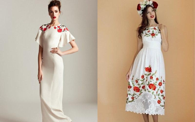 Вишиті плаття фото - 2