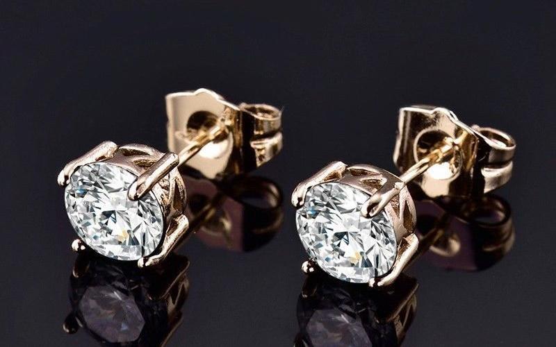 Модні золоті сережки фото - 4