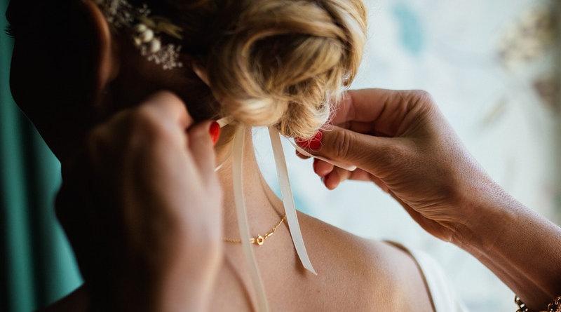 Весільні зачіски фото - 10