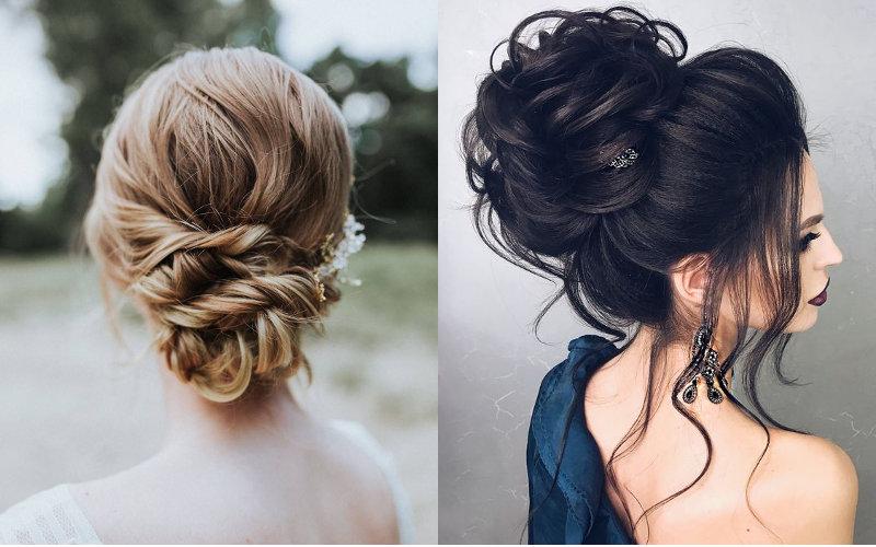 Весільні зачіски на довге волосся фото - 7