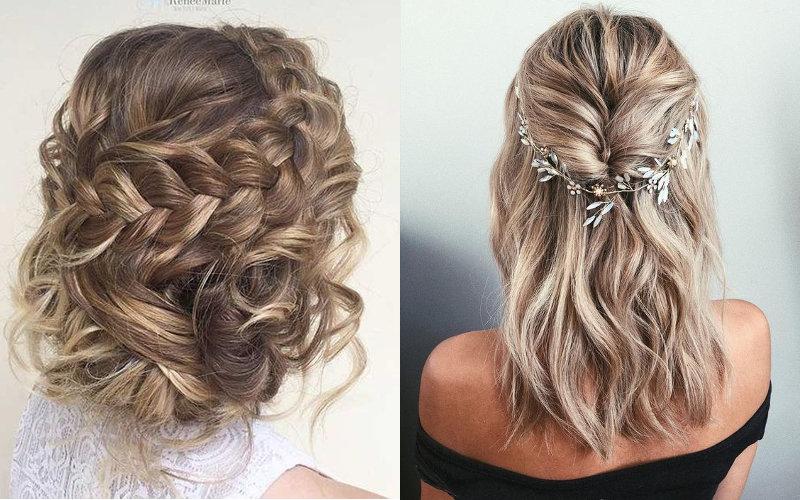 Весільні зачіски на коротке волосся фото - 10