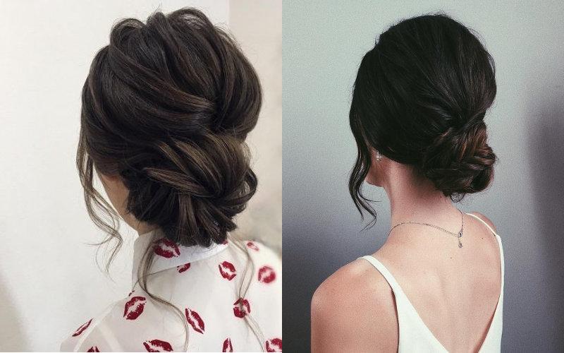 Весільні зачіски на середнє волосся фото - 1
