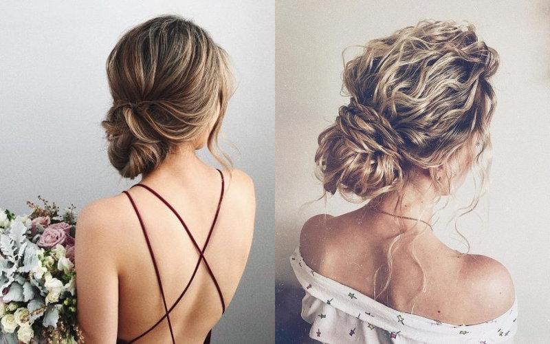 Весільні зачіски на середнє волосся фото - 2