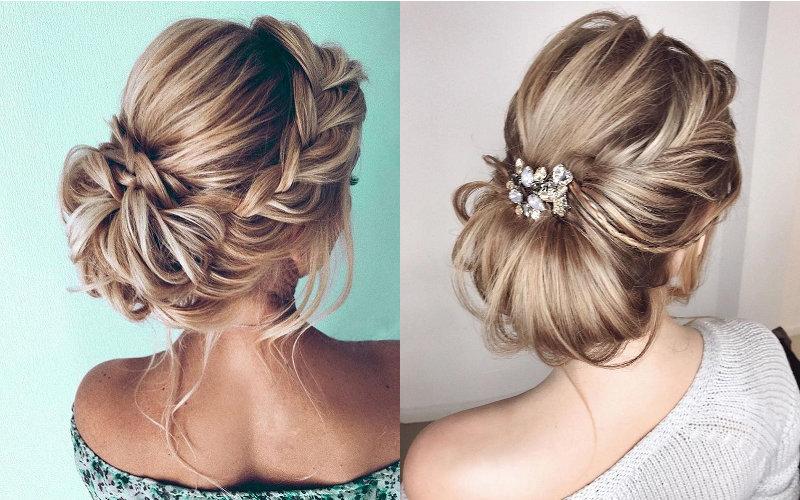 Весільні зачіски на середнє волосся фото - 6