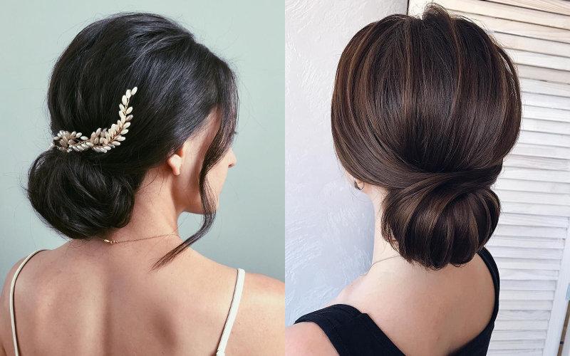 Весільні зачіски на середнє волосся фото - 9