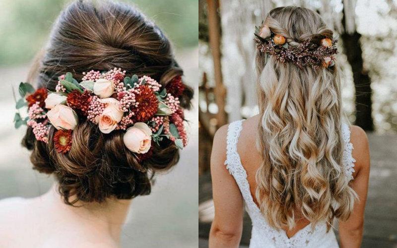 Весільні зачіски в українському стилі фото - 1