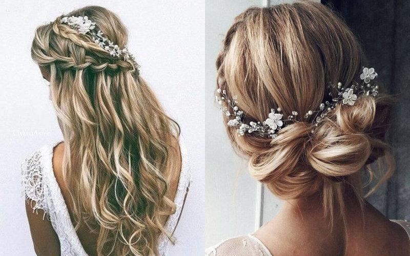 Весільні зачіски в українському стилі фото - 2
