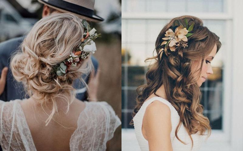 Весільні зачіски в українському стилі фото - 3