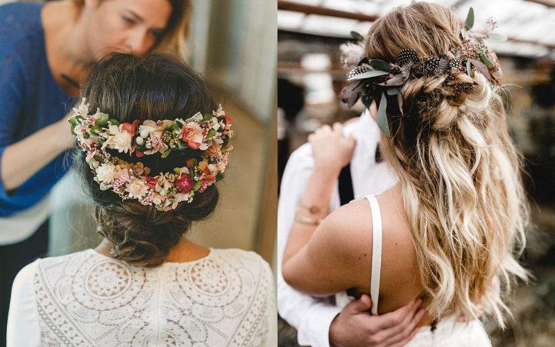 Весільні зачіски в українському стилі фото - 4