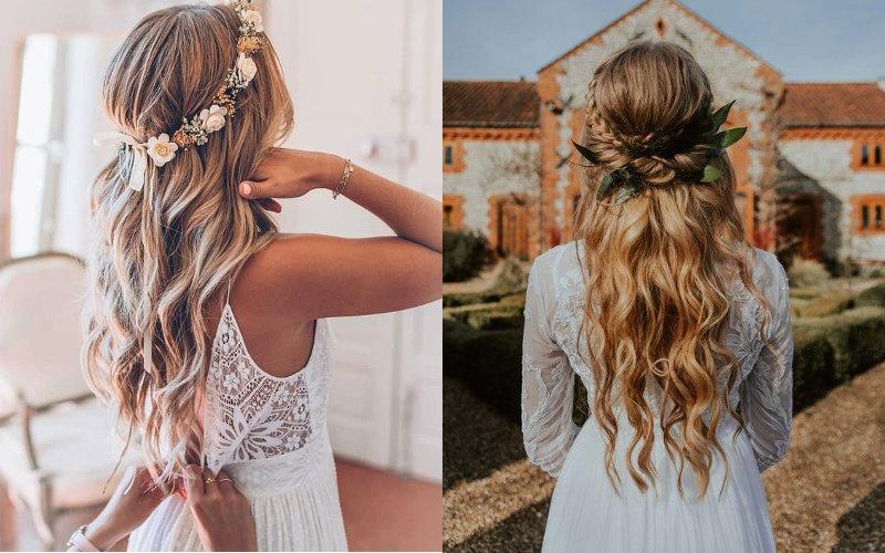 Весільні зачіски в українському стилі фото - 5