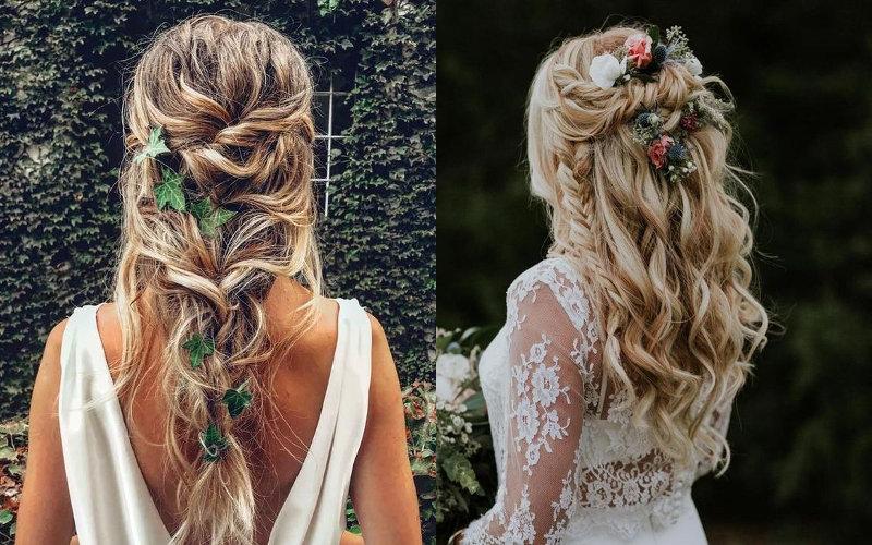 Весільні зачіски в українському стилі фото - 6