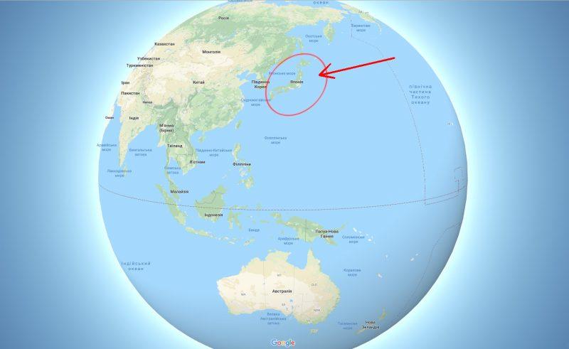 Цікаві факти про Японію - Географія